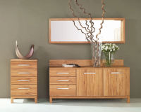 Moderne Wandspiegel aus Holz - individuell...