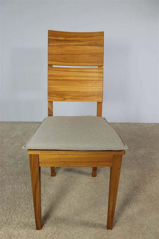 Kissen Stuhl.Sitzkissenbezug Für Kissen Stuhl Lino Ohne Sitzschaum