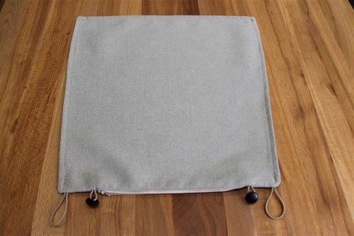 Sitzkissenbezug für Kissen Stuhl LINO ohne Sitzschaum