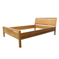 Modernes LINO Bett Classic Massivholz Wildeiche 120 x 200 cm