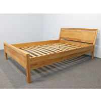 Massivholz Bett LINO Classic Buche 140 x 200 cm