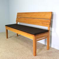 Sitzkissen für LA Bank mit Rückenlehne
