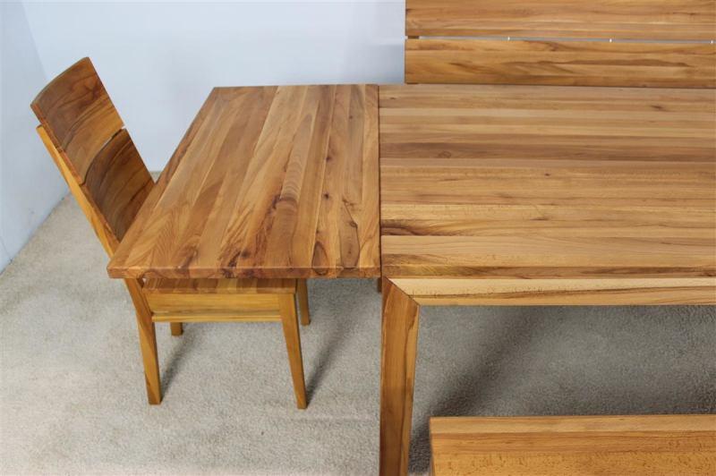 ansteckplatte kernbuche f r esstisch lino mit schublade g hring. Black Bedroom Furniture Sets. Home Design Ideas