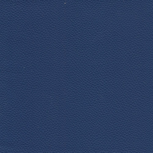 Echtleder blau