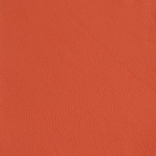 Echtleder orange