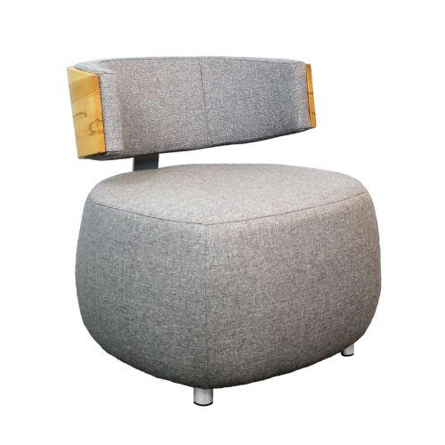 Designer Sessel BOOM mit Massivholzrücken
