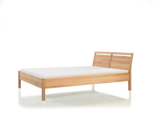 LINO Bett Standard, Nussbaum - 100 x 200 cm