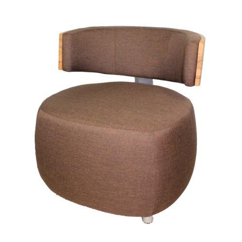 Designer Sessel Boom Mit Massivholzrücken Kernbuche Leder Göhring
