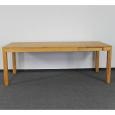 Esstisch LINO Massivholz mit Gestellauszug - 90cm Breite Buche 180 x 90 cm 50 x 90 cm
