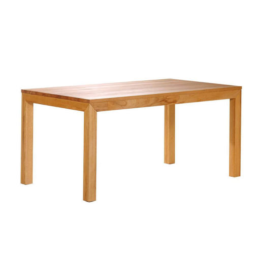 Esstisch LINO Massivholz mit Ausziehfunktion - 100cm Breite Wildeiche 140 x 100 cm 100 x 100 cm