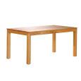Esstisch LINO Massivholz mit Ausziehfunktion - 100cm Breite Wildeiche 200 x 100 cm 50 x 100 cm
