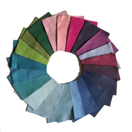 Handmuster für Echtleder Bezug Napoli Colore