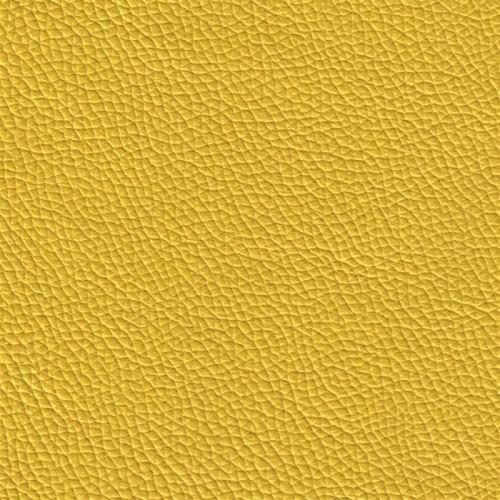 Handmuster für Echtleder Bezug Napoli Colore zitrone