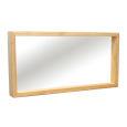 Wandspiegel Massivholz LINO 180 cm Buche
