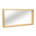 Wandspiegel Massivholz LINO 120 cm Buche