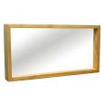 Wandspiegel Massivholz LINO 120 cm Wildeiche