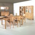 Lino Regal aus Massivholz - 100 x 38 x 192 cm Nussbaum