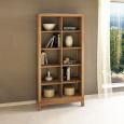 Lino Raumteiler-Regal aus Massivholz - 100 x 38 x 201 cm