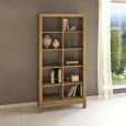 Lino Raumteiler-Regal aus Massivholz - 100 x 38 x 201 cm Wildeiche