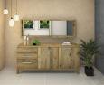 Modernes LINO Sideboard Massivholz Wildeiche