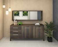 Modernes LINO Sideboard Massivholz Nussbaum