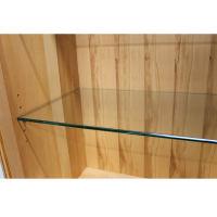 Holz Vitrine mit Glastür LINO Kernbuche