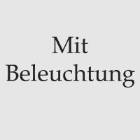 Mit Beleuchtung 2x LED