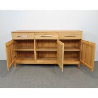 Modernes Holz Sideboard mit Schubladen Buche