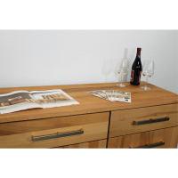 Modernes Holz Sideboard mit Schubladen Kernbuche