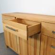 Modernes Holz Sideboard mit Schubladen Eiche