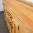 Modernes Holz Sideboard mit Schubladen Nussbaum
