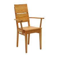 LINO Holzstuhl mit Armlehnen