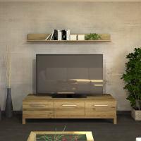Exklusives TV-Lowboard LINO mit 3 Schubladen  Wildeiche