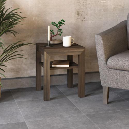 LINO Nachttisch Modern Holz Nussbaum