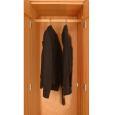 Kleiderstange für Schrank LINO - 60 cm Holz Buche