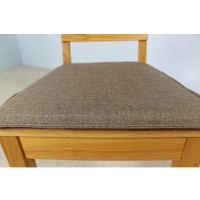 Braungraues Sitzkissen für Stuhl LINO