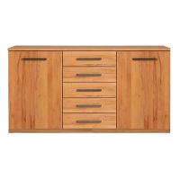 Esszimmer Sideboard Massivholz 180 cm Wildeiche weiß geölt
