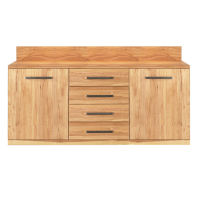 Exklusives Sideboard Holz 180 cm Buche