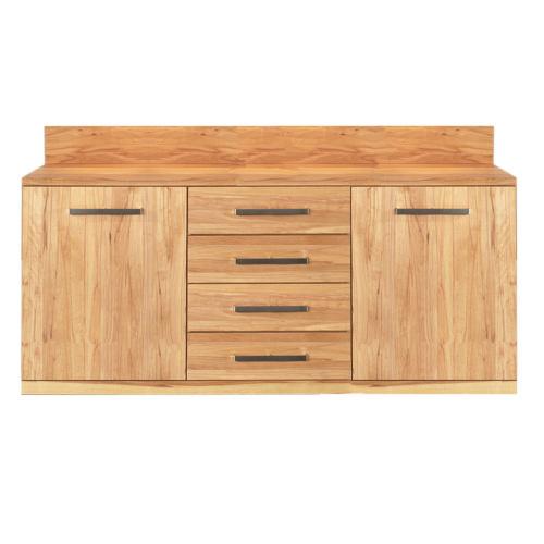 Exklusives Sideboard Holz 180 cm Kernbuche