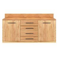 Exklusives Sideboard Holz 180 cm Eiche