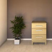 Kleine Schubladenkommode Massivholz Buche
