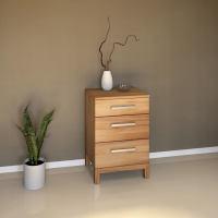 Kleine Schubladenkommode Massivholz Kernbuche