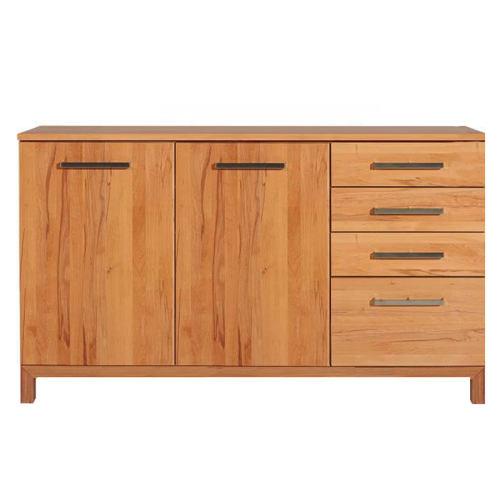 Schlichtes Massivholz Sideboard 180 cm