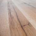 Rustikaler Massivholz Esstisch mit X Gestell 240 x 100 cm