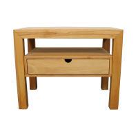 Großer Nachttisch Massivholz LINO mit Schublade