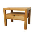 Großer Nachttisch Massivholz LINO mit Schublade Wildeiche
