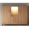Modernes Wohnzimmer Highboard aus Massivholz
