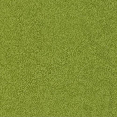 Handmuster für Echtleder Bezug Napoli Classic neongrün / Z 59