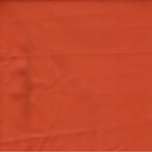 Handmuster für Echtleder Bezug Napoli Classic mandarine / Z 59