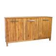 LINO Sideboard Massivholz mit 3 Türen 180 cm Eiche